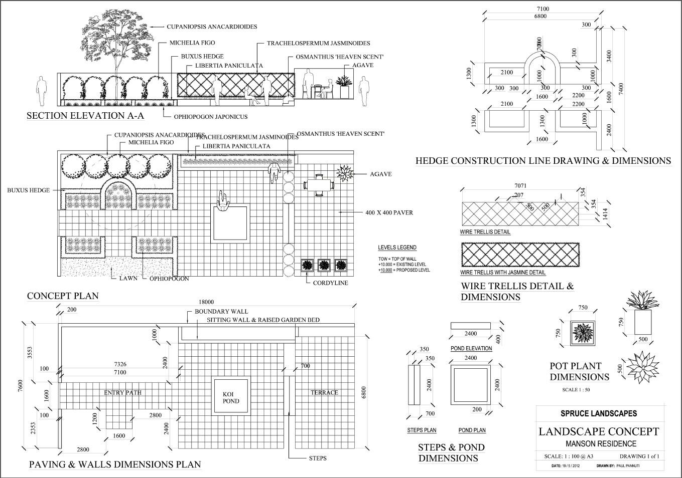 Stage Construction Details Details Construction